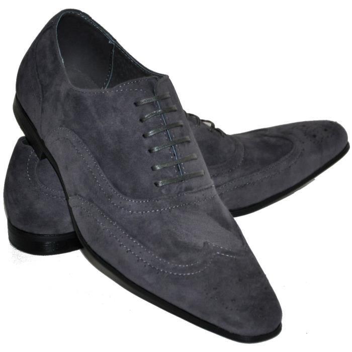 Chaussures Homme Pas Cher I Gris Gris Achat Vente Richelieu Soldes D T Cdiscount