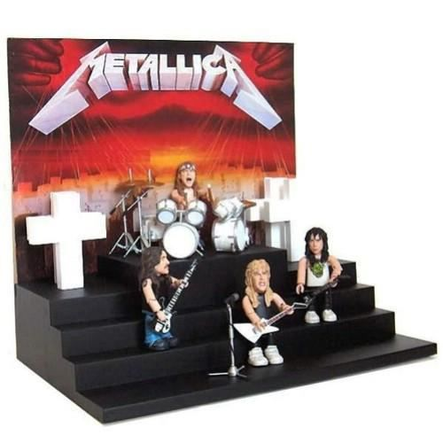 Metallica Master Of Puppets Playset Achat Vente