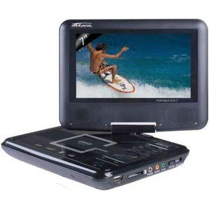LECTEUR DVD PORTABLE TAKAVR122B Lecteur DVD portable Noir