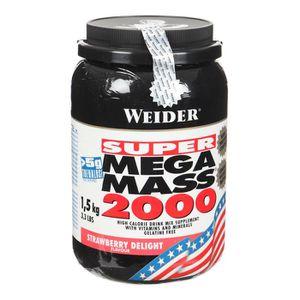 PACK NUTRITION SPORTIVE WEIDER MEGA MASS 2000 FRAISE NTT