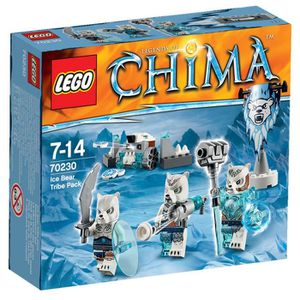 LEGO Legends of Chima 70230 Tribu Ours des Glaces