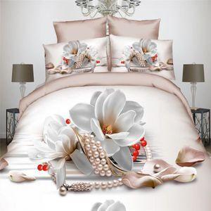 parure de lit 3d 200x200 achat vente parure de lit 3d 200x200 pas cher cdiscount. Black Bedroom Furniture Sets. Home Design Ideas