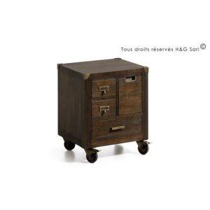 table de chevet industriel achat vente table de chevet industriel pas cher les soldes sur. Black Bedroom Furniture Sets. Home Design Ideas