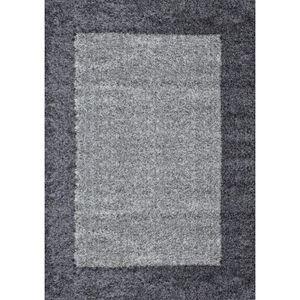 TAPIS Tapis de salon Shaggy Life 1503 160x230 cm graphit