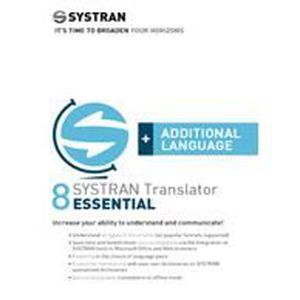 LOGICIEL À TÉLÉCHARGER SYSTRAN 8 Translator Essential - Additional Lan...