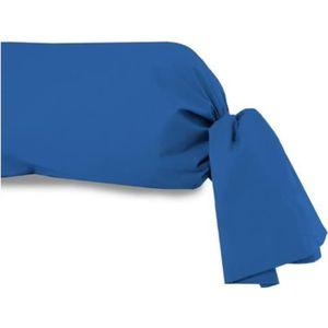 taie de traversin bleu achat vente taie de traversin bleu pas cher cdiscount. Black Bedroom Furniture Sets. Home Design Ideas