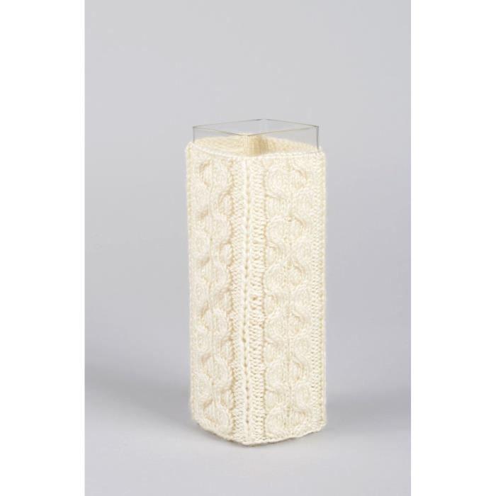 vase verre fait main vase haut design tui tricot original d co int rieur achat vente objet. Black Bedroom Furniture Sets. Home Design Ideas