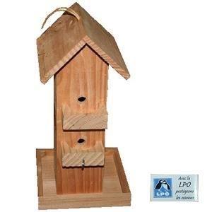 mangeoire en bois pour oiseaux mod le etourneau achat vente mangeoire tr mie mangeoire en. Black Bedroom Furniture Sets. Home Design Ideas