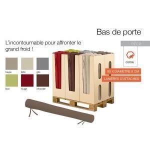 bas de porte 90 cm de longueur 8 cm diametre couleur rouge 100 polyester achat vente boudin. Black Bedroom Furniture Sets. Home Design Ideas
