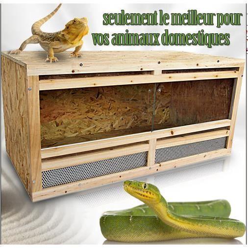 terrarium pour reptiles ou tortues achat vente vivarium terrarium terrarium pour reptiles