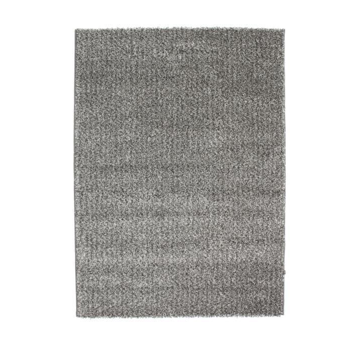tapis de salon shaggy lahti gris anthracite 160x230 cm achat vente tapis cdiscount. Black Bedroom Furniture Sets. Home Design Ideas