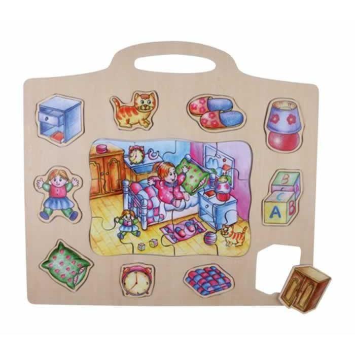 puzzle pour enfant magn tique fortunia achat vente puzzle cdiscount. Black Bedroom Furniture Sets. Home Design Ideas