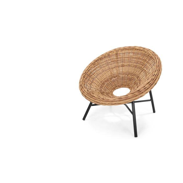 mustique fauteuil rond fini naturel achat vente chaise fauteuil jardin mustique. Black Bedroom Furniture Sets. Home Design Ideas