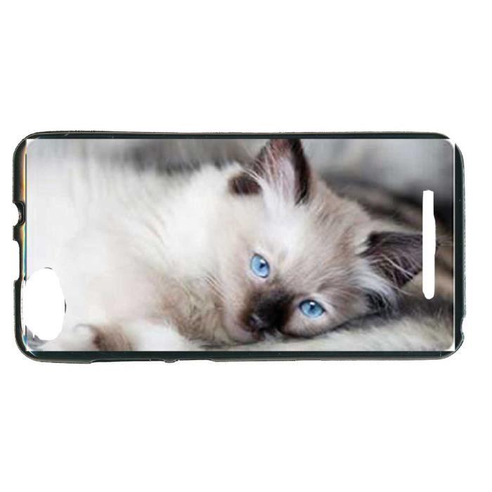housse gel pour wiko lenny 3 motif chat chaton achat housse tui pas cher avis et meilleur. Black Bedroom Furniture Sets. Home Design Ideas