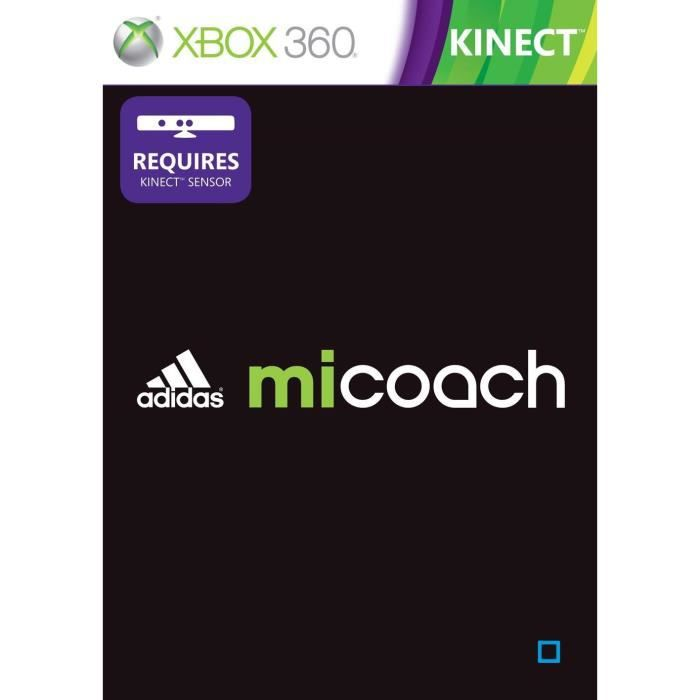 adidas micoach kinect jeu console xbox 360 achat. Black Bedroom Furniture Sets. Home Design Ideas