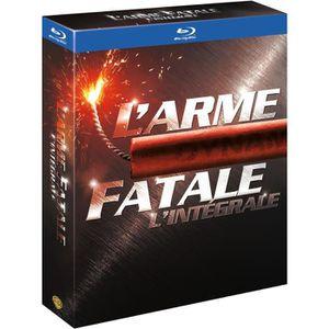 BLU-RAY FILM Blu-Ray L'Arme fatale - L'intégrale