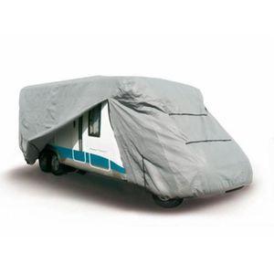 BÂCHE DE PROTECTION Housse Camping Car en PVC 160 grs/m² 750x250x270cm