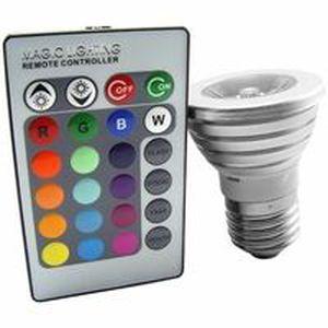 ampoule led ampoule led couleurs changeantes tlcommande - Ampoule Colore
