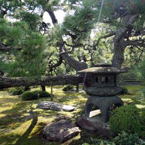 Tableau nature jardin japonais achat vente tableau - Tableau jardin japonais ...