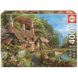 puzzle 4000 pieces achat vente jeux et jouets pas chers. Black Bedroom Furniture Sets. Home Design Ideas