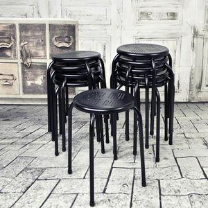 tabouret achat vente tabouret pas cher cdiscount. Black Bedroom Furniture Sets. Home Design Ideas