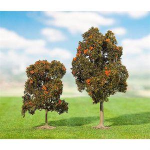 TERRAIN - NATURE Modélisme - Végétation - 2 cormiers