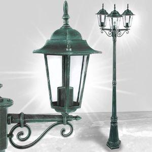 lampe de jardin exterieur sur pied achat vente lampe de jardin exterieur sur pied pas cher. Black Bedroom Furniture Sets. Home Design Ideas
