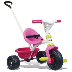 TRICYCLE SMOBY Tricycle Rose Be Fun Fille