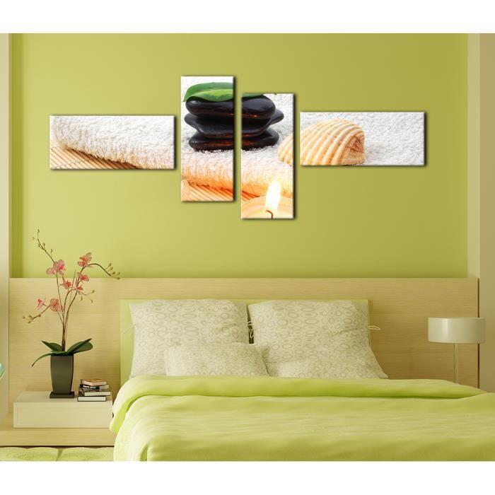Bilderdepot24 toile sur ch ssis bois zen cailloux vii for Achat cailloux decoration