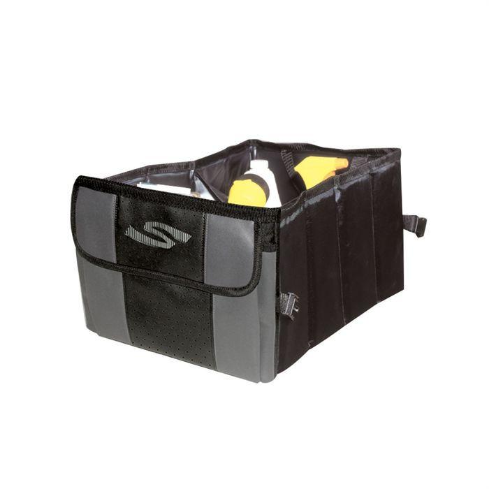Rangement de coffre sportex gris noir achat vente sac filet de coffre r - Coffre de rangement noir ...