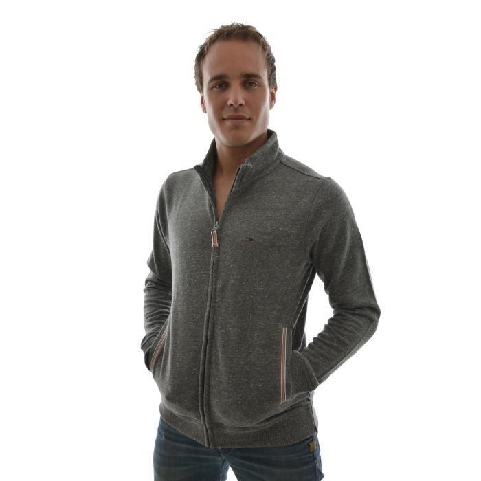 gilets cardigans tommy hilfiger hugo track jacket gris gris achat vente gilet cardigan. Black Bedroom Furniture Sets. Home Design Ideas