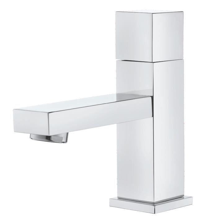 robinet lave mains cubik chrome achat vente robinetterie de cuisine 831006 robinet lave. Black Bedroom Furniture Sets. Home Design Ideas