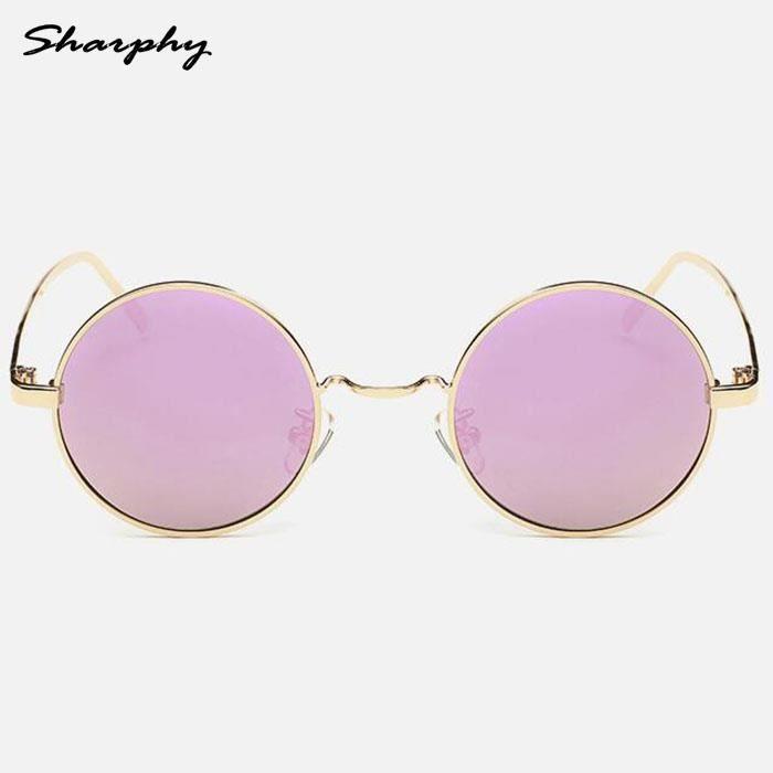 sharphy lunettes de soleil homme femme dor frame grandes. Black Bedroom Furniture Sets. Home Design Ideas