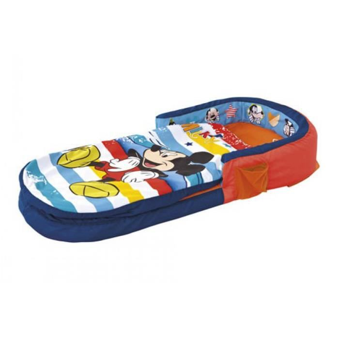 Matelas gonflable disney mickey my first 130x60 achat vente matelas b b 5013138644232 - Lit gonflable bebe decathlon ...