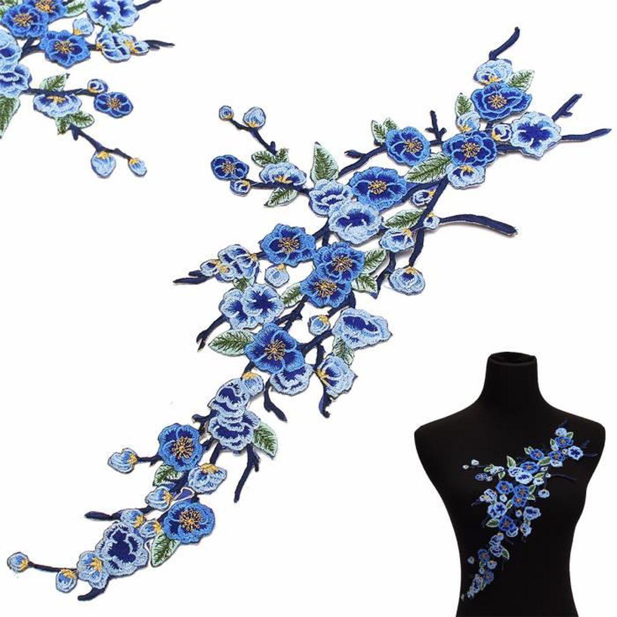 Ecusson thermocollant fleur achat vente ecusson for Achat de fleurs