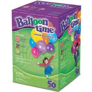 BALLON DÉCORATIF  Bouteille Hélium Jetable 50 ballons
