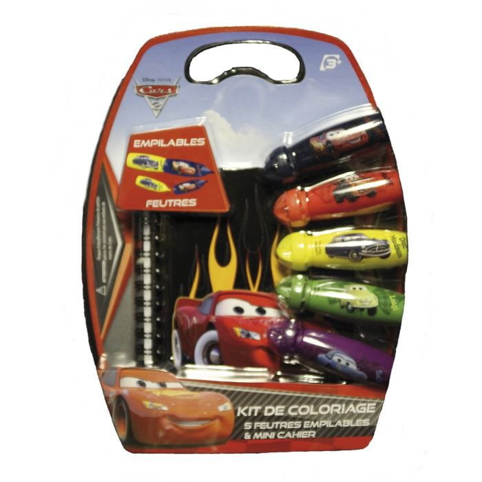 kit de coloriage feutres cars achat vente b 226 ton 233 p 233 e baguette cdiscount