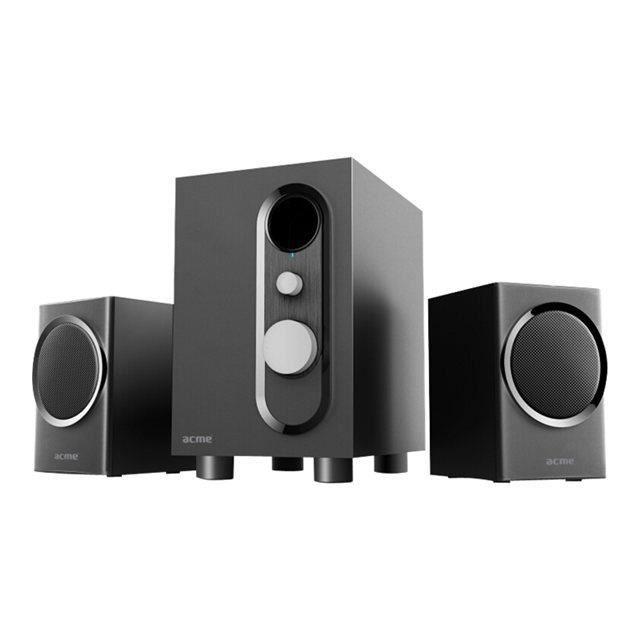 acme ss209 wooden haut parleur pour pc prix pas cher les soldes sur cdiscount cdiscount. Black Bedroom Furniture Sets. Home Design Ideas