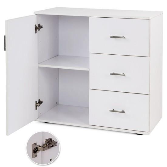 commode avec 3 tiroirs couleur ch ne achat vente commode de chambre commode avec 3 tiroirs. Black Bedroom Furniture Sets. Home Design Ideas