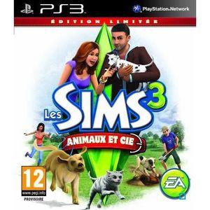 JEU PS3 LES SIMS 3 ANIMAUX ET CIE EDITION LIMITÉE / PS3