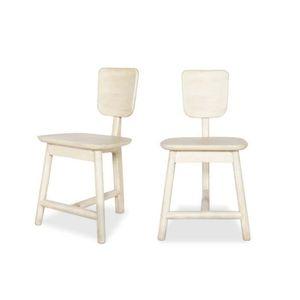 Chaise couleur bois naturel achat vente chaise couleur for Chaise en couleur