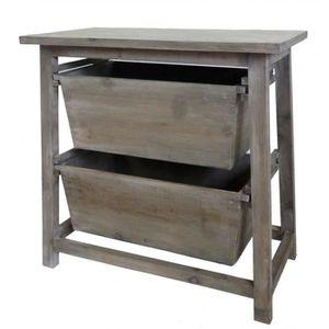 Petit meuble salle de bain en bois achat vente petit - Petit meuble de rangement salle de bain pas cher ...