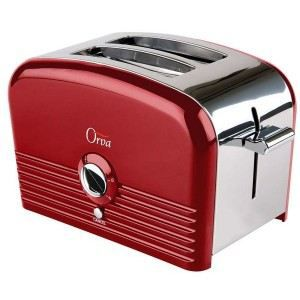 toaster r tro rouge 18343 56 achat vente grille pain toaster cdiscount. Black Bedroom Furniture Sets. Home Design Ideas