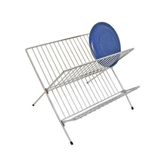 egouttoir a vaisselle pliable chrome achat vente egouttoir couverts egouttoir a vaisselle. Black Bedroom Furniture Sets. Home Design Ideas