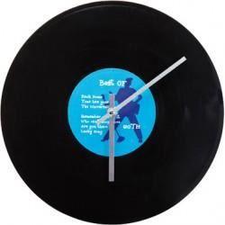Horloge disque vinyl 30 cm achat vente horloge vinyl plastique cdiscount - Deco avec disque vinyl ...