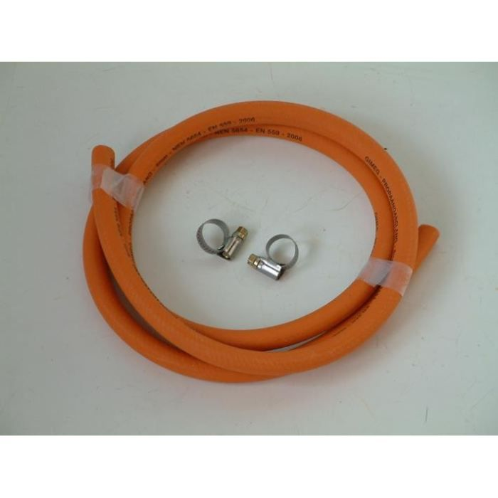 tuyau a gaz orange nu avec colliers achat vente pi ce appareil cuisson cdiscount. Black Bedroom Furniture Sets. Home Design Ideas