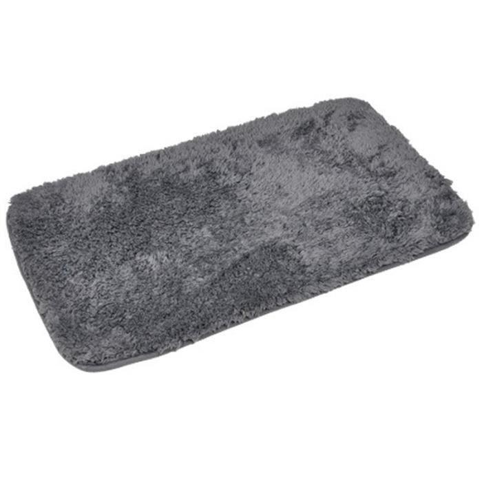 tapis cocoon coloris tendance gris 3cm de m achat vente tapis de bain cdiscount. Black Bedroom Furniture Sets. Home Design Ideas