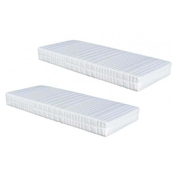 matelas 2 x 90 x 200 dynamic latex armorel relax achat vente matelas cdiscount. Black Bedroom Furniture Sets. Home Design Ideas
