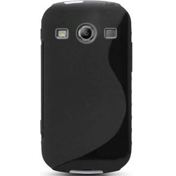 Coque housse s line noire xcover 2 s7710 samsung achat for Housse xcover 4