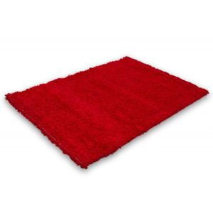 Tapis Shaggy 140 x 200 Rouge Lalee Relax